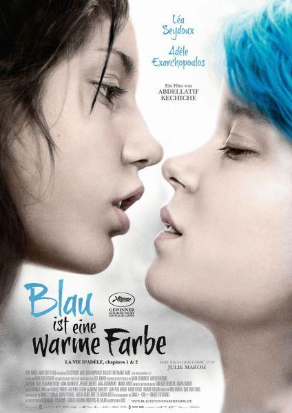 Blau ist eine warme Farbe - La vie d'Adèle (Kapitel 1 & 2) (Kinoposter)