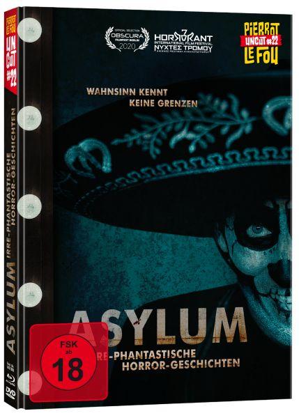Asylum - Irre-phantastische Horror-Geschichten - Limited Edition Mediabook (uncut) (Blu-ray + DVD) -