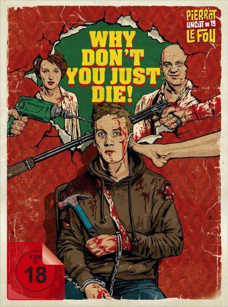 Why Don't You Just Die! - Limited Edition Mediabook (uncut) (Blu-ray + DVD)