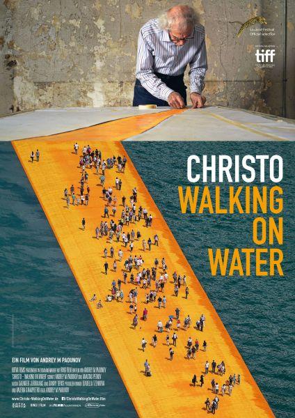 Christo - Walking on Water (Kinoposter)